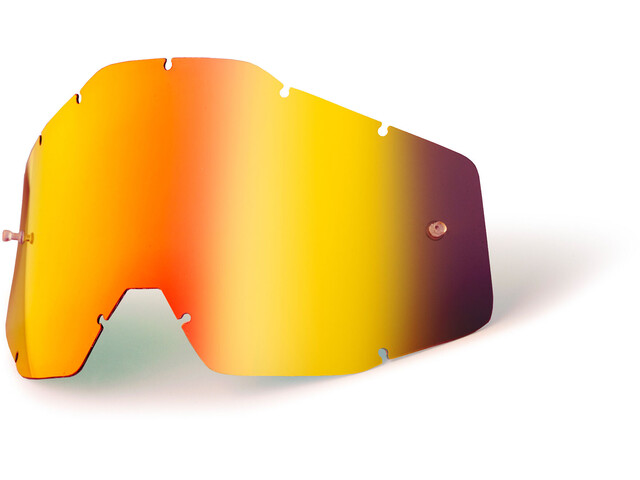 100% Replacement Lenses Youth red / mirror